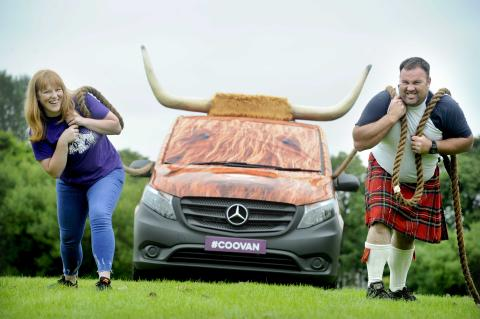 Visitors feel pull of the coo vans
