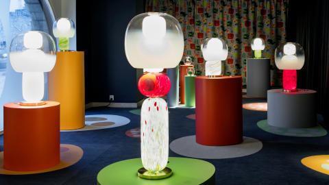 Svenskt Tenn launches the lighting collection Fusa produced in Murano, designed by Luca Nichetto