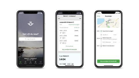 SJ er Europas mest digitale reiseselskap