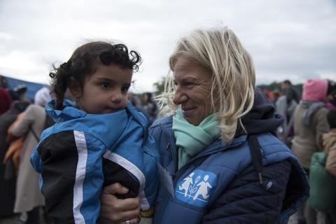 Preem skänker pengar till SOS Barnbyars arbete i flyktingkatastrofen