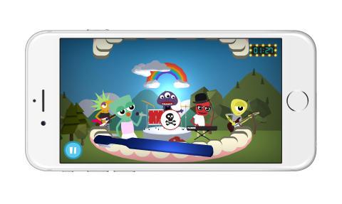 Rockamunnen mobilspel