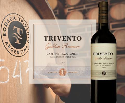 Nyhet på Systembolaget – Trivento Cabernet Sauvignon