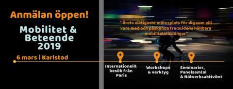 Inbjudan: Mobilitet & Beteende 2019