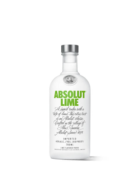 Absolut Lime 700ml White Lowres