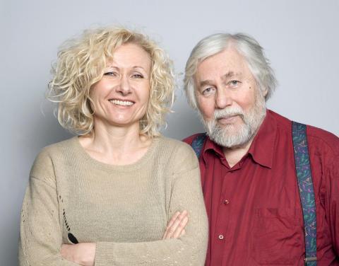 Anne G. Holt og Tor Åge Bringsværd