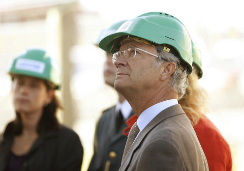 The Swedish King Carl XVI Gustaf and Queen Silvia visit SEKAB.