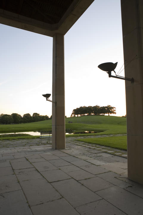 Skogskyrkogården: Skogskrematoriet