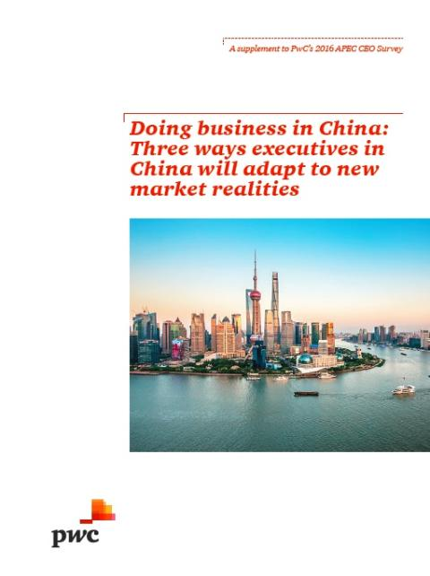 Over half of China and HK executives plan to increase investment in China