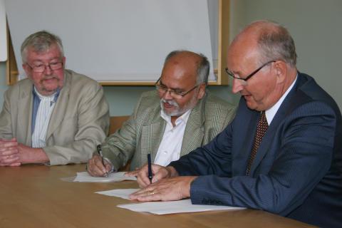 Avtal med indiskt universitet ger unika möjligheter till samverkan