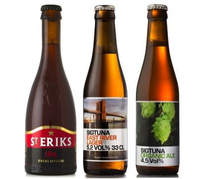 SJ erbjuder mikrobryggt öl på sina resor