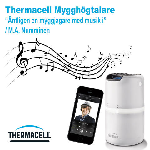 Årets nyhet  - Thermacell mygghögtalare