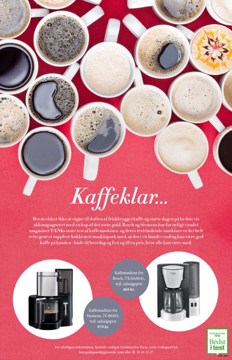 Kaffeklar...