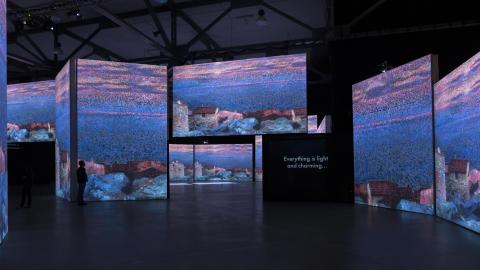 Exklusiv förhandsvisning för media av Monet till Cezanné i Halmstad