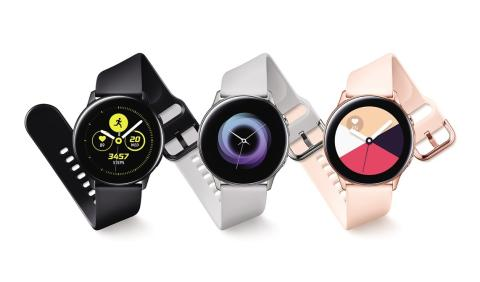 ​Nå kommer Samsung Galaxy Watch Active i butikk