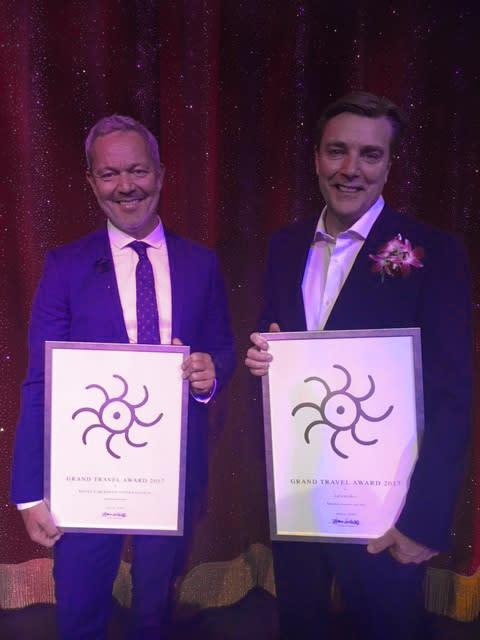 Vinner av Grand Travel Award - 22 år på rad