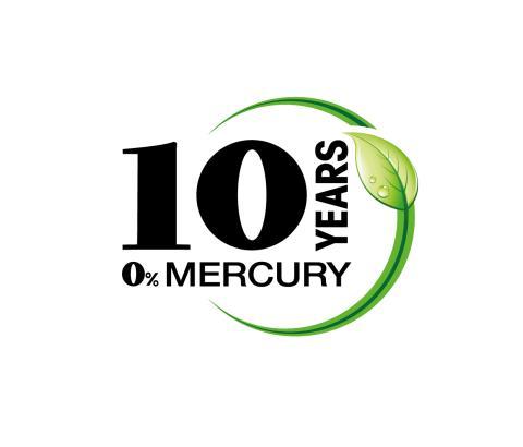 Mercury-free battery production