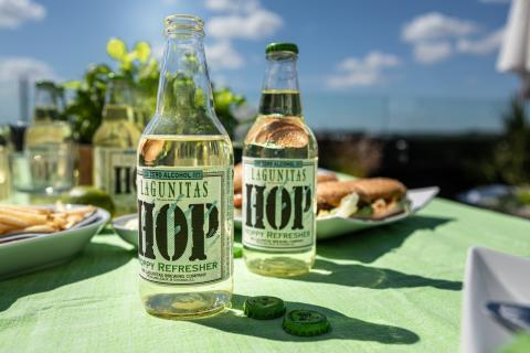 Lagunitas lanserar alkoholfri dryck bryggd på humle