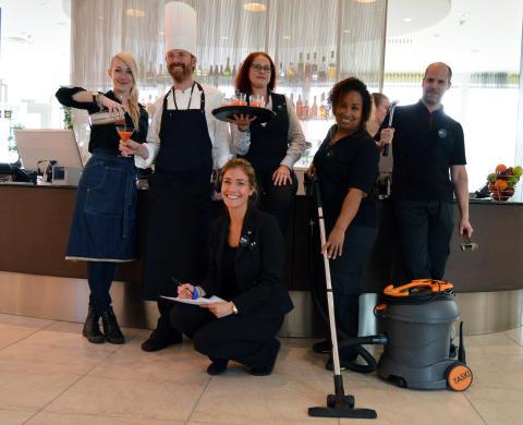 Clarion Hotel Arlanda Airport – ett av Sveriges bästa hotell på service