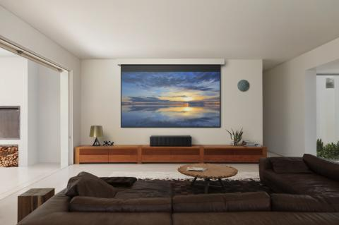 Sony launches a new era of home displays with the  VPL-VZ1000ES Ultra Short Throw 4K HDR home theatre projector