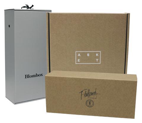 Förpackningar för e-handel