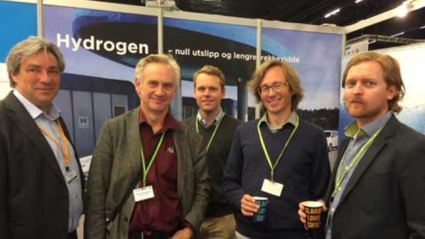 Profilerer hydrogen for transportbransjen