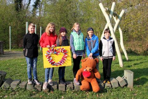 """Kinderhort """"Am Wasserturm"""" engagiert sich für Bärenherz"""