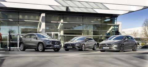 10 nya laddhybrider från Mercedes-Benz