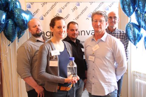 Borås finalister i Kranvattentävlingen 2015.
