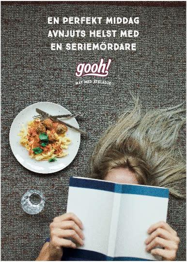 """B-Reel och Gooh introducerar """"mat med ätglädje"""""""