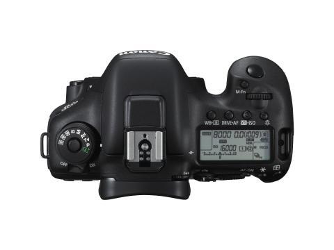 Canon EOS 7D Mark II top