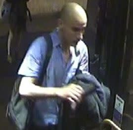 Image of man police need to identify