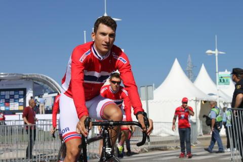 Sven Erik Bystrøm først start sykkel-VM 2014