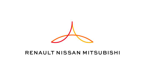 Renault-Nissan-Mitsubishi Alliance - Logo JPEG Color with White Background
