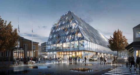 White vann arkitekttävlingen om Växjös nya stads- och stationshus