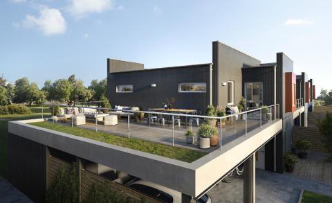 Pressinbjudan: Byggstart för Riksbyggens etapp fyra på Södra Sommarro, Karlstad
