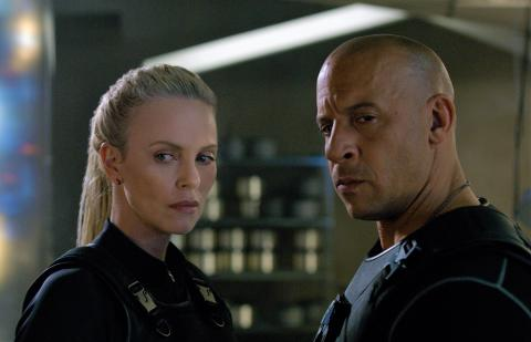 Fate of the Furious / Fast and the Furious 8 med bl.a. Charlize Theron og Vin Diesel