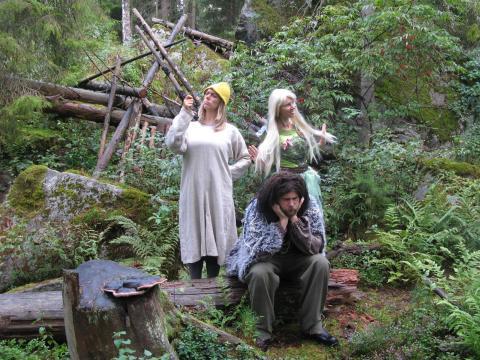 Bland älvor och troll i Operaskogen 1