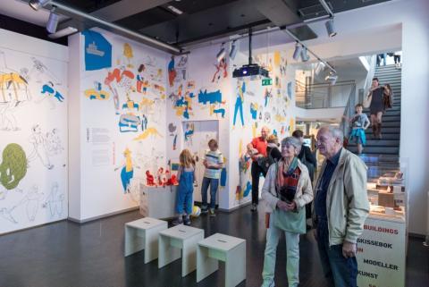 Mellomstasjonen – på vei til det nye Nasjonalmuseet