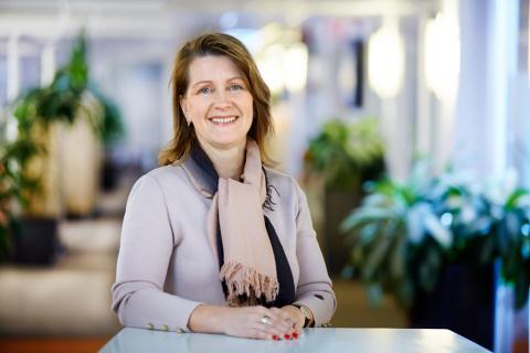 Eva Söderberg har utsetts till vice VD för Mälarenergi AB