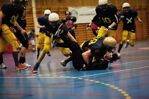 Påminnelse: lördag 6 feb - Student-SM-final amerikansk inomhusfotboll - Uppsalastudenterna vs Carlberg