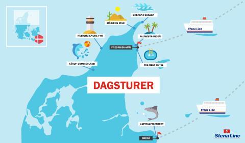 Barnfamiljer vallfärdar till Danmark i augusti  – så maximerar du resan