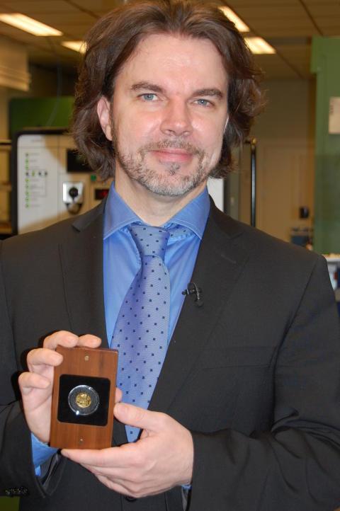 Janne Mertanen ja Sibelius -kultaraha