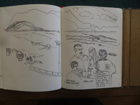 A Holiday In Drawings - Part 2