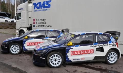BAUHAUS och Johan Kristoffersson siktar på VM-guld i rallycross 2016