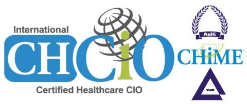 Prüfungsvorbereitung und Prüfung zum Certified Healthcare CIO   -   Anmeldeschluss ist der 07. Mai