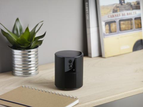Somfy One med sin eleganta design och lilla format