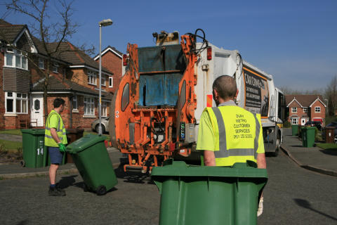Important information about bin collections in Bury