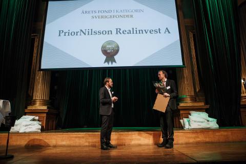 Årets Sverigefond 2017 - PriorNilsson Realinvest A