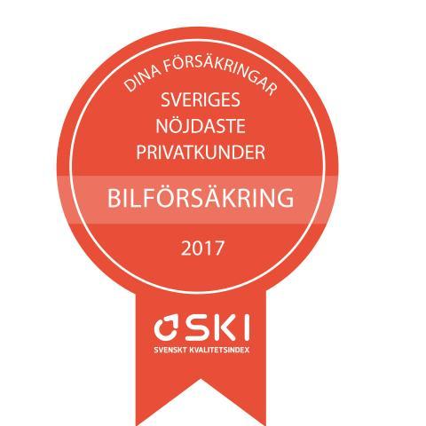 Medaljer SKI Försäkring 2017 bil