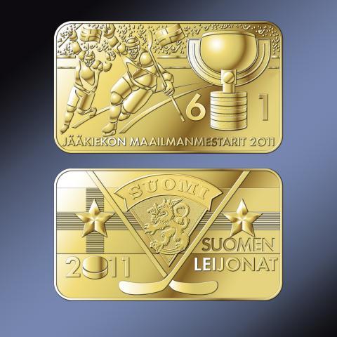 Jääkiekon maailmanmestarit 2011 -keräilyharkko